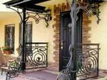 Заборы, калитки, ворота, тамбуры, оградки, перила, лестницы - photo 6