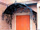 Заборы, калитки, ворота, тамбуры, оградки, перила, лестницы - photo 7