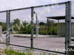 Заборы Казачка-Стандарт ворота и калитки