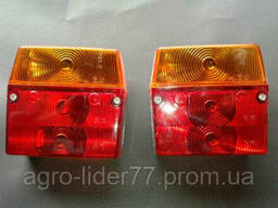 Задние фонари тракторного прицепа 2ПТС-4, 2ПТС-6, ПТС-9