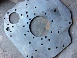 Задний лист (плита переходная под стартер) ЗИЛ Бычок