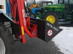 Задний погрузчик на трактор МТЗ Т25 и другие, не фронтальный