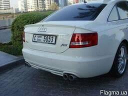 """Задний спойлер Audi A6 C6/4F (2004-. .. ) реплика """"ABT"""""""
