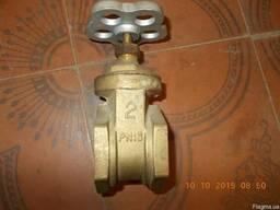 Задвижка бронзовая ду50 ру16 муфтовая - фото 1