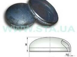 Заглушки эллиптические (сферические) стальные Ду 21-630мм