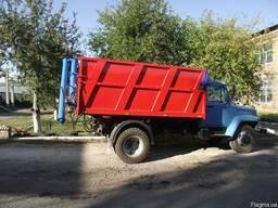 Загрузчик сеялок ЗС-30М на ГАЗ-САЗ-3507
