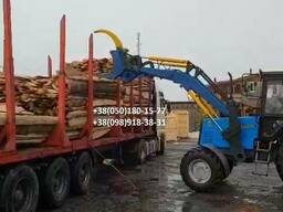 Захват для бревен на трактор Т-40, ЮМЗ, МТЗ