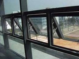 Закаленное стекло с двойным остеклением