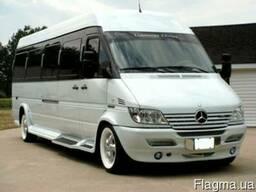 Заказ автобусов и микроавтобусов: ;