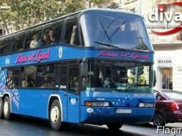 Заказ автобусов Одесса. Аренда автобуса 70 мест