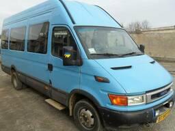 Заказ и аренда микроавтобуса Ивеко 18 мест