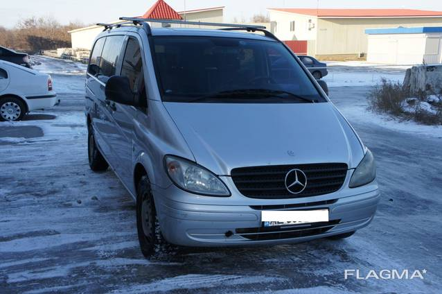 Заказ микроавтобуса/Пассажирские перевозки Mercedes Vito