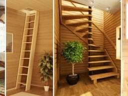Заказать Деревянную Лестницу на Второй Этаж