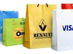 Заказать пакеты с логотипом в Киеве