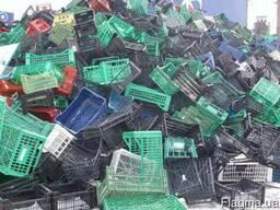 Закупаем отходы ПВД, ПНД, ПП (флакон, ящики, крышка, тазы, ведра)