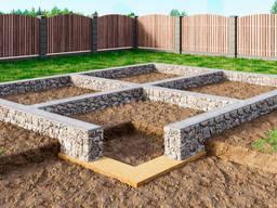 Строительство, заливка фундамента