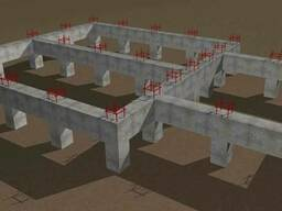 Заливка Ж/Б конструкций и форм