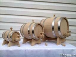 Дубовые кадки и бочки от 3 литров