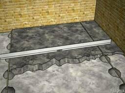 Замена деревянного пола на бетонные