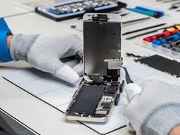 Замена стекла сенсора экрана на Iphone Samsung Lenovo ремонт