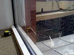 Замена стеклопакетов на металлопластиковы пластиковых окнах.