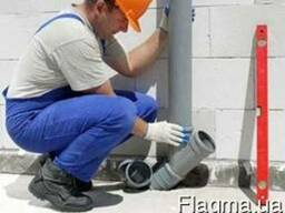 Замена стояка канализации - Швидко сервіс
