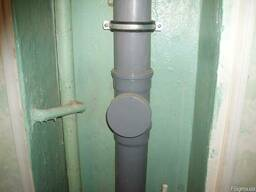 Замена стояков канализации, водопровода