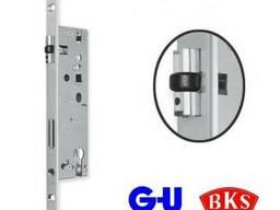 Замок для алюминиевых дверей BKS 25/92/245 с роликом.
