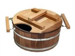 Запарник для бани и сауны на 15 л (термодерево)