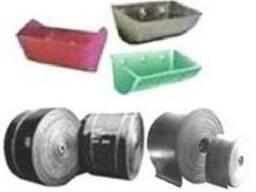 Запасні частини до норій (ковші, стрічки норійні, метизи )