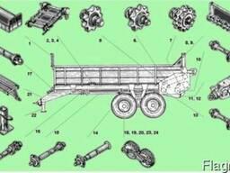 Запасные части для разбрасывателей ПРТ-7, ПРТ-10