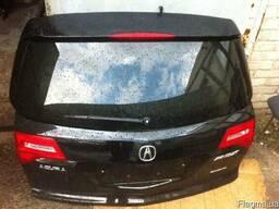 запчасти Acura MDX б.у. бампер дверь крыло фара капот крышка