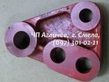 Важіль трьохплечий сталевий до бараночної машини Б458 - фото 5