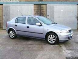 Запчасти бу на Opel Astra G разборка Опель Астра шрот злом