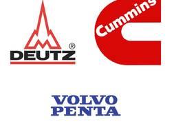Запчасти для двигателей Volvo, Deutz, Cummins