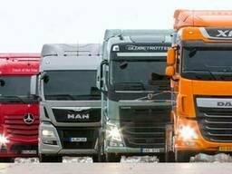 Запчасти на грузовые автомобили MAN DAF Mercedes