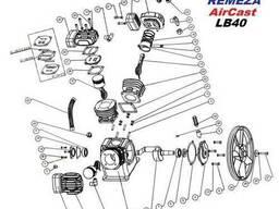 Запчасти компрессора LB40