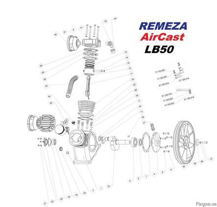Запчасти компрессора LB50