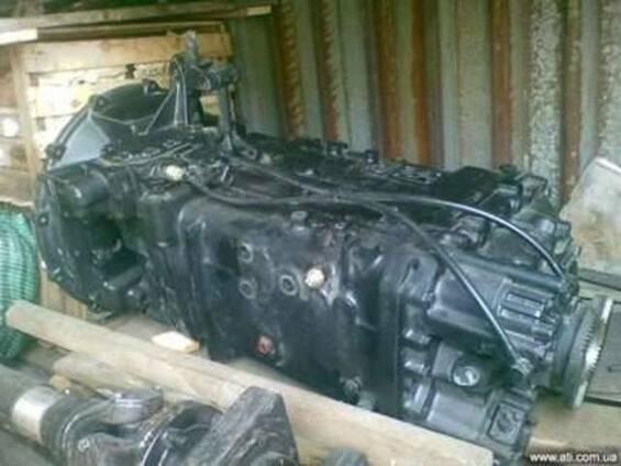 Запчасти MAN-КПП ZF 16S160, радиатор, корзина сцепления