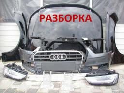 Запчасти новые б/у капот крыло бампер фара дверь Audi Q3