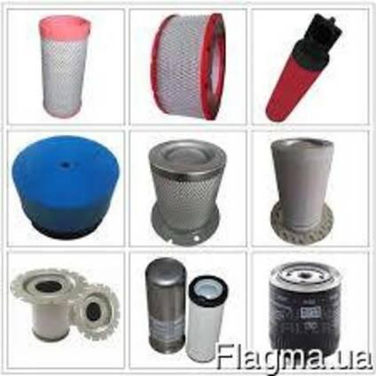 Запчастини для компресорного обладнання, фільтри