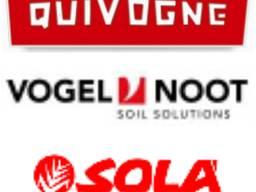 Запчастини до техніки: QUIVOGNE (Ківонь) VOGEL & NOOT SOLA