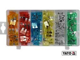 Запобіжники автомобільні YATO Standard 120 шт