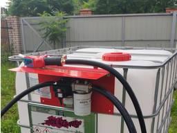Заправ. модуль на еврокуб для перекачки дизельного топлива