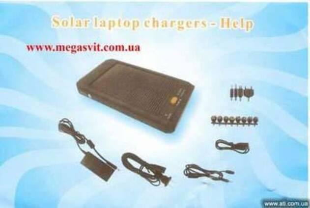 Зарядка на солнечных батареях Solar chargers с фонариком