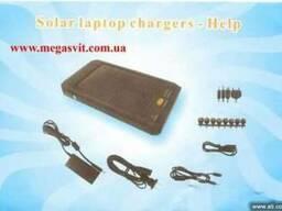 Зарядка на солнечных батареях Solar chargers с фонариком - фото 1
