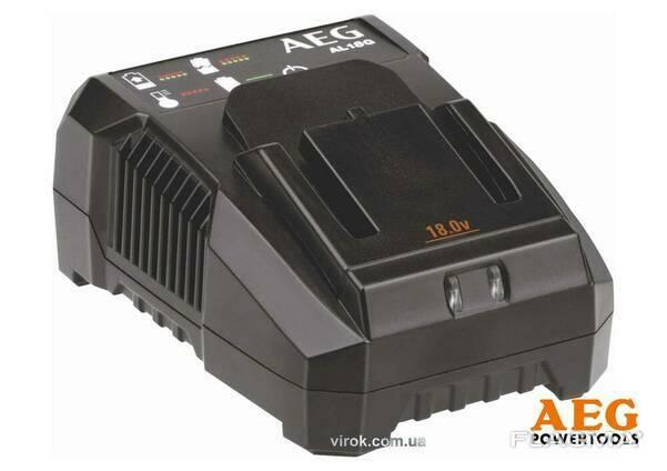 Зарядний пристрій AEG для Li-Ion акумуляторів 18 В