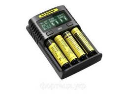 Зарядное устройство универсальное Nitecore Digicharger UM4, 4 канала, LCD дисплей. ..