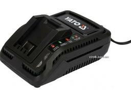 Зарядний пристрій YATO до акумуляторів Li-Ion 18 В від електромережі 230 В