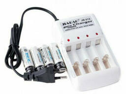 Зарядное устройство Jiabao AA + аккумуляторы 4 шт в...